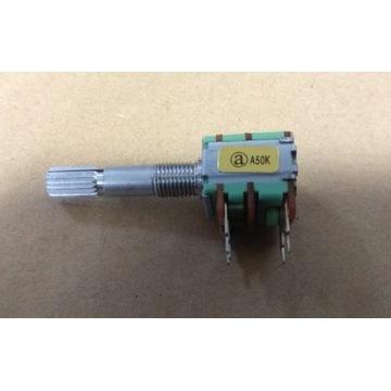 Potencjometr A50K Long on/off