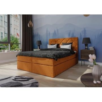 Podwójne łóżko kontynentalne LUNA 160x200  PRODUC.