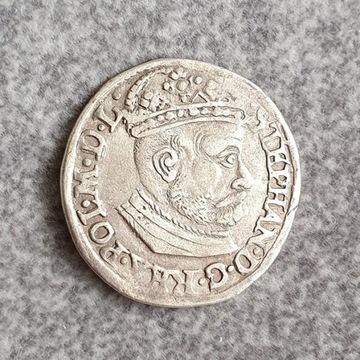 Trojak Olkusz 1581 rok. Rzadkość R2
