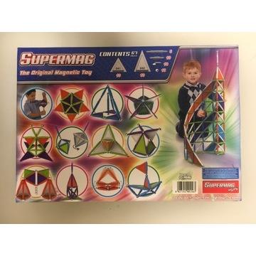 Supermag klocki magnetyczne 67 elementów
