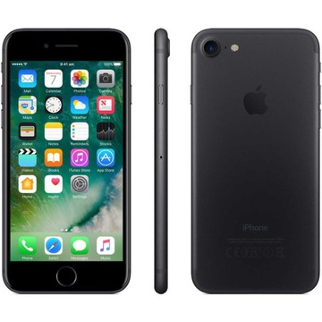 Apple iPhone 7 32GB Czarny Mat IDEALNY