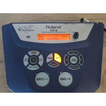 Moduł Perkusyjny Roland TD 6