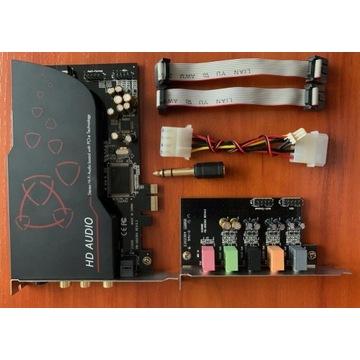 Karta dźwiękowa AIM SC808 7.1 PCI-E
