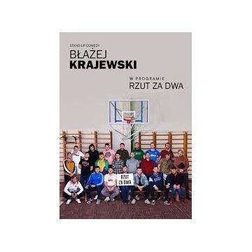 Bilet Standup Błażej Krajewski Rzut za dwa Poznań