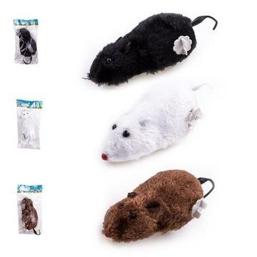 Nakręcana mysz zabawka dla kota psa dziecka