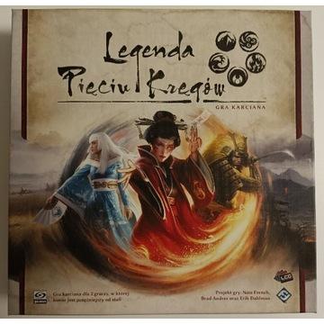 Legenda Pięciu Kręgów gra karciana
