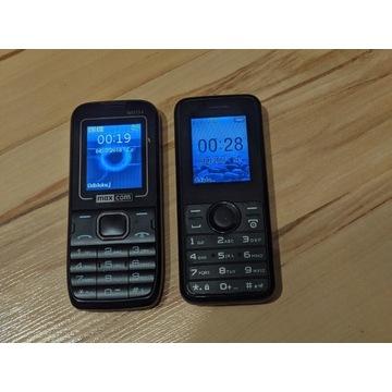 Telefony komórkowe maxcom i philips BCM