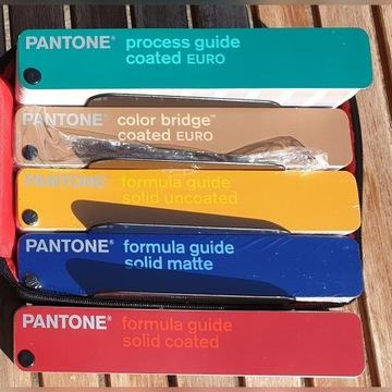 PANTONE Guide RAL CMYK wzorniki NOWE 5 szt