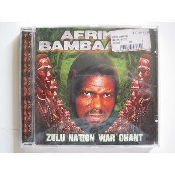 "Afrika Bambaataa ""Zulu Nation War Chant"" idealny"