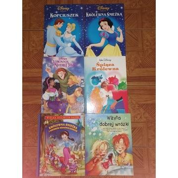 DISNEY 6 książek
