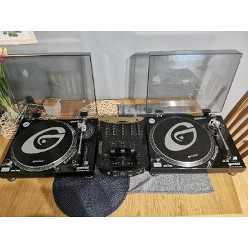 Gramofony gemini force sa 600 plus numark dm3002x