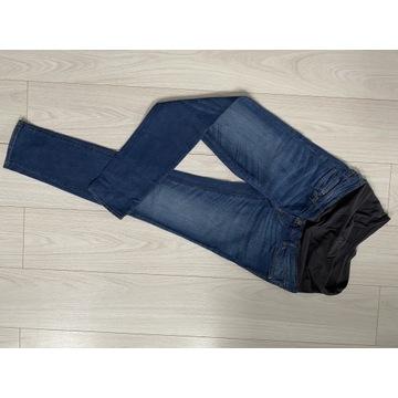Spodnie ciążowe Jak nowe H&M 40 mama slim