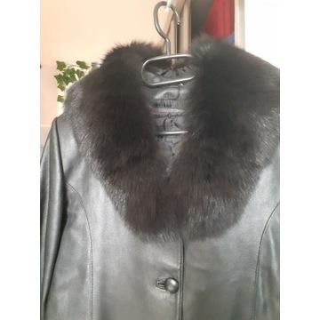 BUKOWSKI Skórzany płaszcz