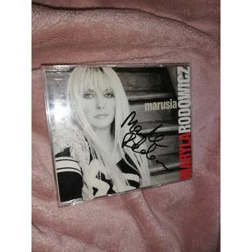 CD Maryla Rodowicz Marusia z autografem unikat