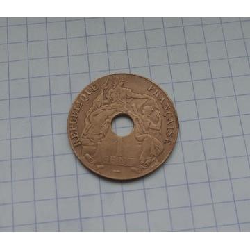 Indo Chiny 1 cent 1924