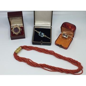 Biżuteria złota 14k 18k