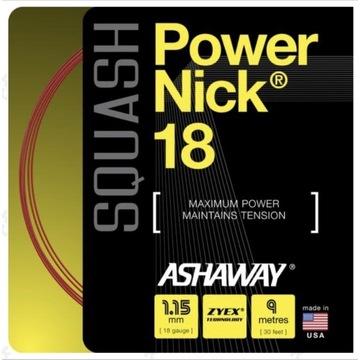 Naciąg Ashaway PowerNick 18 + GRATIS crashtape