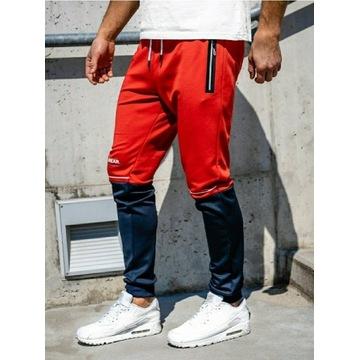 Spodnie dresowe męskie L