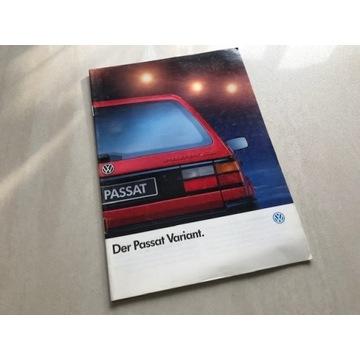 Prospekt VW Passat Variant B3 (kombi)