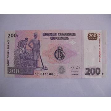 Kongo - 200 Francs - 2013 - P99 - St.1