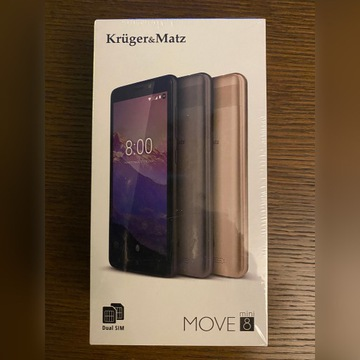 Kruger&Matz move 8 mini złoty