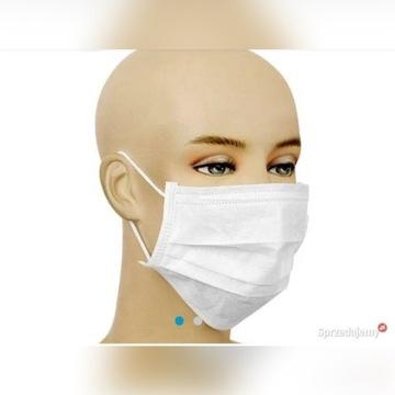 Maseczka chirurgiczna maski maska medyczna 10sztuk