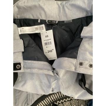 Spodnie narciarskie  4F damskie szare XS nowe