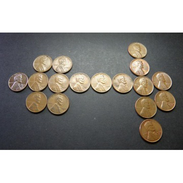 1 CENT USA Lincoln Cent 1951 - 1958