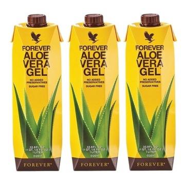 Forever SOK ALOES 99%  Aloe Vera3X1 litr