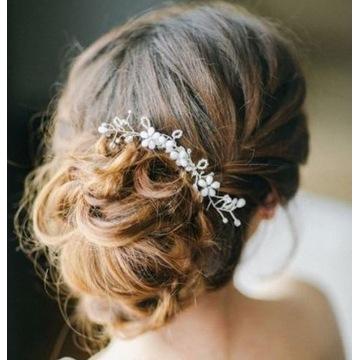 Grzebyk do włosów ślubny