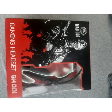 Słuchawki gamingowe Mad Dog GH001
