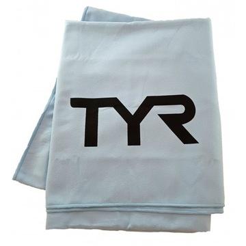 Duży ręcznik TYR  z mikrofibry kolor niebieski