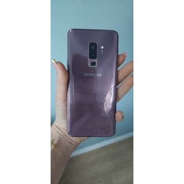 Samsung Galaxy S9 plus USZKODZONY NA CZĘŚCI