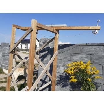 dźwig na niewielką budowę sprawdzony na 40kg