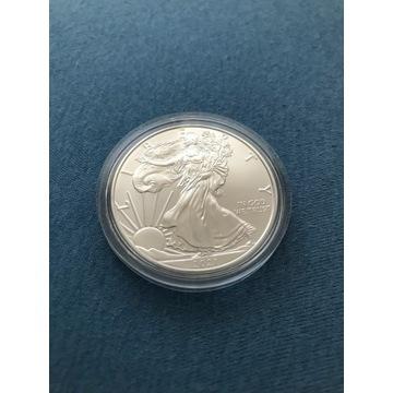 LIBERTY Orzeł 1 Dolar 2021  1 oz Ag999 USA
