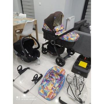 Okazja! 3w1 Wózek dziecięcy CHICCO Doskonały 4w1