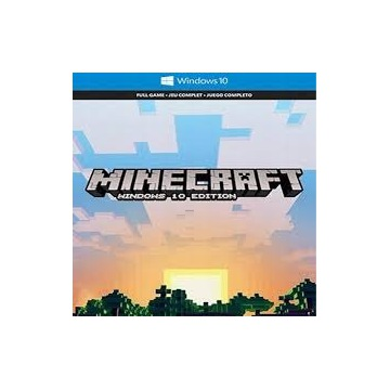 Minecraft Windows 10 Edition (PC) KLUCZ
