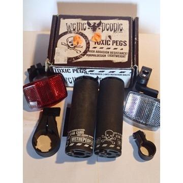 WTP-BMX- hamulec,pegi,akcesoria