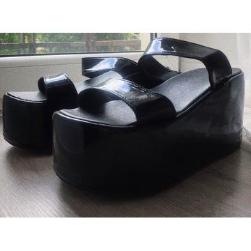 Sandały platformy egirl