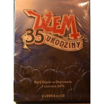 DŻEM 35 URODZINY  2 DVD & 4 CD - W FOLII
