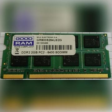 PAMIĘĆ RAM 2GB GOOD RAM GR800S264L5/2G PC2-6400