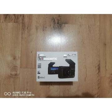 Kamerka samochodowa 4k blitz V3 magnetic + 64GB