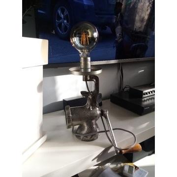 Lampka z maszynki