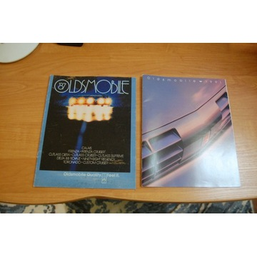 Konspekty Oldsmobile 1987 i 1991