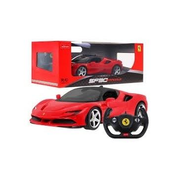 Autko R/C Ferrari SF90 Pojazd na pilot 1:14 RASTAR