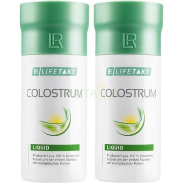 LR LIFETAKT Colostrum Liquid ODPORNOŚĆ
