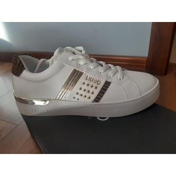 Białe sneakersy trampki LIU JO rozm. 41