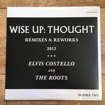 """Elvis Costello & The Roots - Wise Up Thought 10"""""""