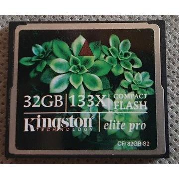 Kingston 32GB karta pamięci CF