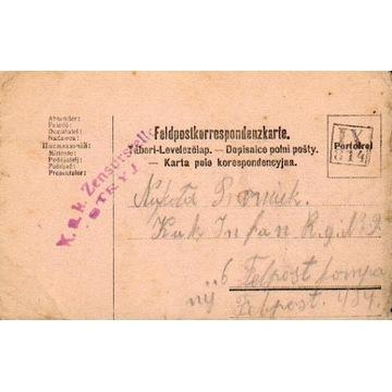 1916 - Wistowa (Kałusz) - kamufl.st.okręg. IX-814